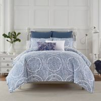 Bridge Street Luna King Duvet Cover Set in Blue
