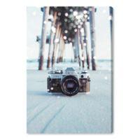 Oliver Gal™ Sea Camera Bokeh 16-Inch x 24-Inch Canvas Wall Art
