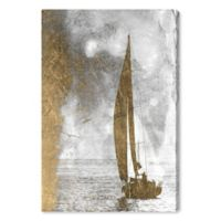 Oliver Gal™ Sails of Gold 16-Inch x 24-Inch Canvas Wall Art