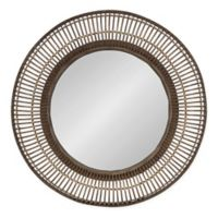 Kate and Laurel Kayanna Mirror in Brown