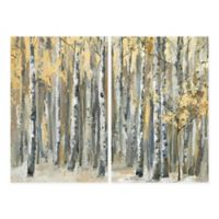 Parvez Taj Autumn Forest 48-Inch x 36-Inch Canvas Wall Art Set