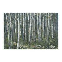 Parvez Taj Magical Green Forest 45-Inch x 30-Inch Canvas Wall Art