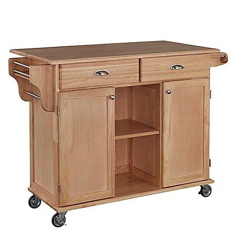 Home Styles Napa Rolling Kitchen Cart Bed Bath Beyond