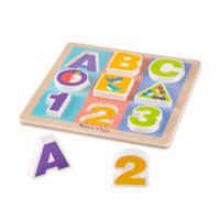 Melissa & Doug® 13-Piece ABC-123 Wooden Chunky Puzzle