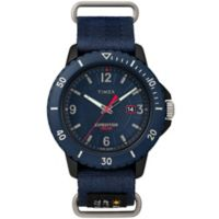 Timex® Expedition Gallatin Men's 44mm TW4B14300 Solar Watch in Blue