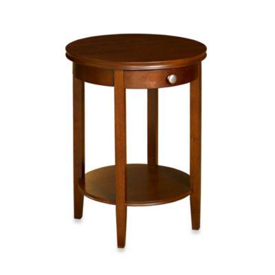 Shelburne Cherry Accent Table Amazing Design