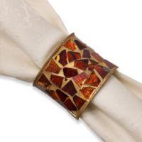 Tuscan Tiles Napkin Ring