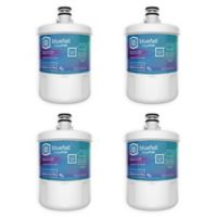 Bluefall™ LGT500P Compatible Replacement Refrigerator Water Filter (Set of 4)