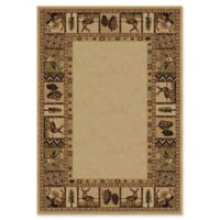 Orian High Country 5-Foot 3-Inch x 7-Foot 6-Inch Area Rug in Bisque