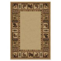 Orian High Country 7-Foot 10-Inch x 10-Foot 10-Inch Rug in Bisque