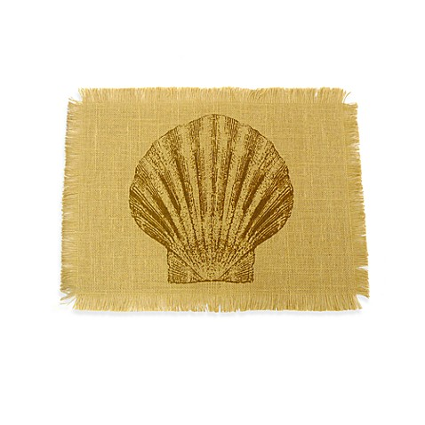 Shell Jute Placemat