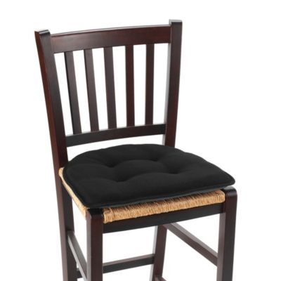 Klear Vu Tufted Embrace Gripper® Chair Pad In Black