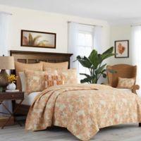 Tommy Bahama® Batik Pineapple King Quilt in Sienna