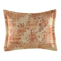 Tommy Bahama® Batik Pineapple Oblong Throw Pillow in Coral