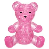 BePuzzled Pink Teddy Bear 41-Piece 3D Crystal Puzzle