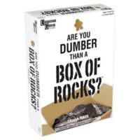 University Games Are You Dumber than a Box of Rocks? Family Game