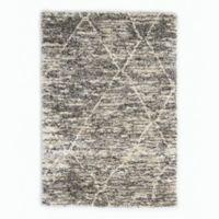 Calvin Klein® San Antonio Lines 5'6 x 8' Area Rug in Charcoal/Ivory