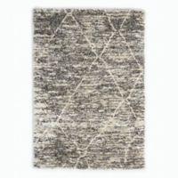 Calvin Klein® San Antonio Lines 8' x 10' Area Rug in Charcoal/Ivory