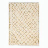 Calvin Klein® San Antonio Trellis 5'6 x 8' Area Rug in Ivory/Multi