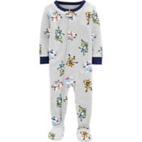 carter's® Size 3T Ninja Snug-Fit Cotton Pajama in Grey