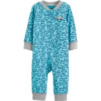 carter's® Size 6M Cars Footie in Teal