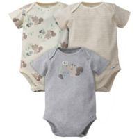 Gerber® Onesies® Preemie 3-Pack Squirrel Bodysuits