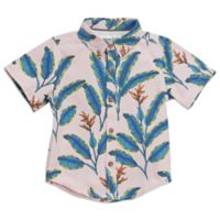 Sovereign Code™ Size 24M Banana Leaf Woven Shirt