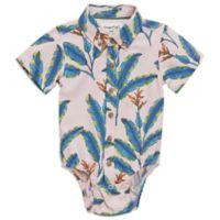 Sovereign Code™ Size 0-3M Banana Leaf Woven Bodysuit