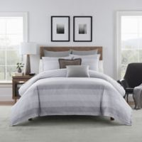 Bridge Street Harper Full/Queen Duvet Cover Set in Grey