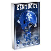 University of Kentucky Football 3D Acrylic Block