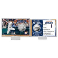 MLB Carlos Correa Player Coin Card