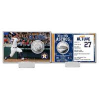 MLB Jose Altuve Player Coin Card