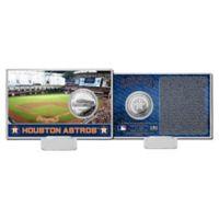 MLB Houston Astros Team Coin Card