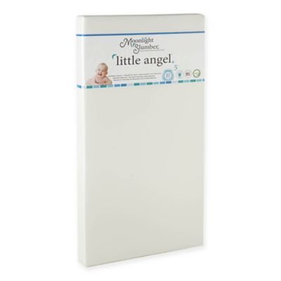 moonlight slumber little angel onesided foam crib mattress