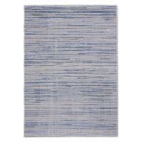 Calvin Klein® Orlando Loom Woven Striped 5'3 x 7'3 Area Rug in Blue