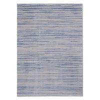 Calvin Klein® Orlando Loom Woven Striped 7'10 x 10'6 Area Rug in Blue