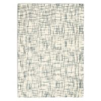 Calvin Klein® Tucson Hand Tufted Abstract 7'9 x 9'9 Area Rug in Ivory/Light Grey