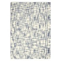 Calvin Klein® Tucson Hand Tufted Abstract 7'9 x 9'9 Area Rug in Ivory/Navy