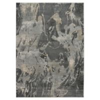 Nourison Fusion 9'6 x 13' Area Rug in Beige/Grey
