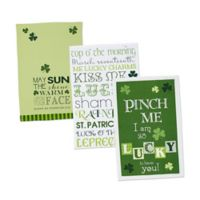 Design Imports 3-Pack St. Patrick's Day Printed Kitchen Towels
