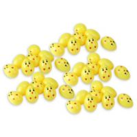 Northlight 40-Pack Chick Easter Eggs in Yellow
