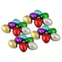 Northlight 24-Pack Metallic Easter Eggs