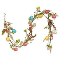 National Tree Company 59-Inch Easter Egg Garland