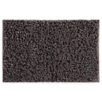 VCNY Home 20-Inch x 30-Inch Paper Shag Bath Rug in Grey