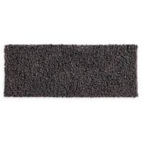 VCNY Home 24-Inch x 60-Inch Paper Shag Bath Rug in Grey