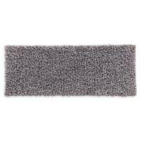 VCNY Home 24-Inch x 60-Inch Paper Shag Bath Rug in Light Grey
