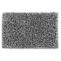 VCNY Home 20-Inch x 30-Inch Paper Shag Bath Rug in Light Grey