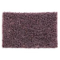 VCNY Home 20-Inch x 30-Inch Paper Shag Bath Rug in Purple