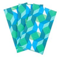 Color Theory 45-Count Paper Guest Towels in Green/Blue