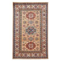 Feizy Rugs One of a Kind Super Kazak 3' x 4'9 Area Rug in Chocolate/Ivory